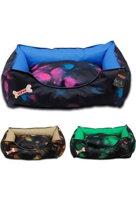 Su Geçirmez Kumaş Köpek Yatağı Large 70x86x22h cm