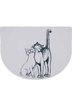 Trixie Kedi Mama Servisi, 40×30 Cm, Yarım Daire