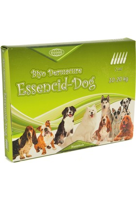 Biyo-Teknik Essencid Dog Ense Damlası 10 20 Kg 2 ml x 5 Adet