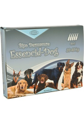 Biyo-Teknik Essencid Dog Ense Damlası 20 40 Kg 4 ml x 5 Adet