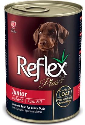 Reflex Plus Kuzu Etli Konserve Yavru Köpek Maması 400 gr