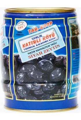 Katırlı Köyü Hazır Kahvaltılık Siyah Zeytin 1 kg