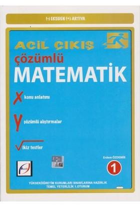 Fasikül Yayınları Acil Çıkış Çözümlü Matematik 1