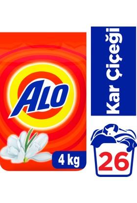 Alo Toz Çamaşır Deterjanı Kar Çiçeği 4 kg