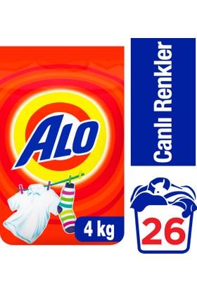 Alo Toz Çamaşır Deterjanı Canlı Renkler 4 kg