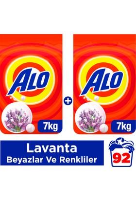 Alo Toz Çamaşır Deterjanı Beyazlar Ve Renkliler İçin Lavanta 7 kg + 7 kg