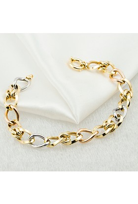 Favori Gold 14 Ayar Altın Halka Bileklik Sht664Bl-28