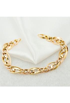 Favori Gold Taşsız 14 Ayar Altın Bileklik Shtbl-2
