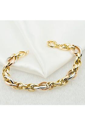 Favori Gold 14 Ayar Altın Bileklik