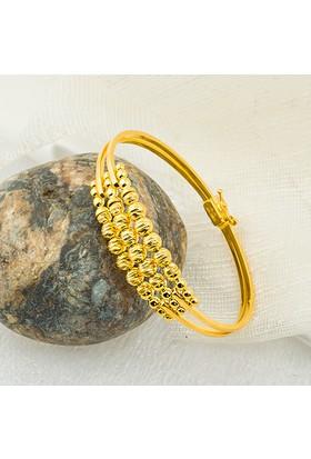 Favori Gold Topaçlı Altın Kaburga Bilezik S19Bz-92-1