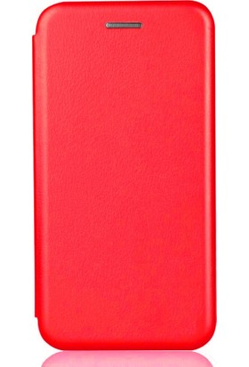 Sonmodashop Huawei Mate 10 Pro Flip Cover Standlı Mıknatıslı Kapaklı Kılıf + Temperli Cam