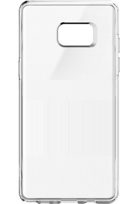 Case 4U Samsung Galaxy Note 7 Kılıf Silikon Arka Kapak - Şeffaf