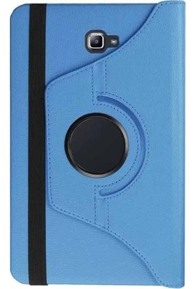 CresCent Samsung Galaxy Tab A6 P580/P585 10.1 İnç 360 Rotating Stand Tablet Kılıfı (Kalemli Model)