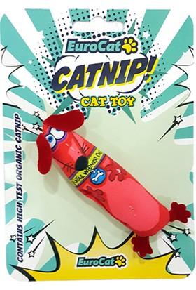 Eurocat Kedi Oyuncağı Sosis Köpek 10cm