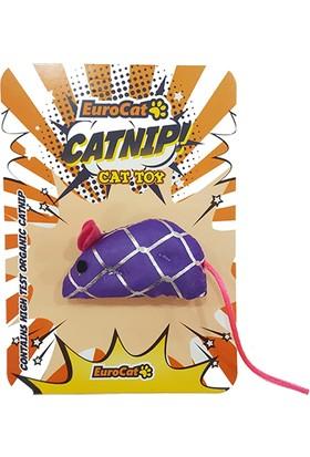 Eurocat Kedi Oyuncağı Parlak Fare 15cm