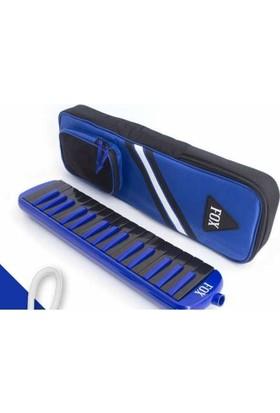 Fox 32 Tuş Mavi Melodika Renkli Tuş