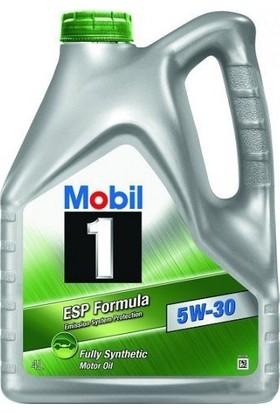 Mobil 1 ESP Formula 5W-30 4LT DPF Araçlara Uygun Benzinli Dizel Motor Yağı ( Üretim Yılı : 2018 )
