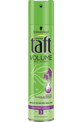 Taft Volume Saç Spreyi 250 ml