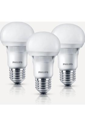 Philips Essential 6W-42W E27 6500K 3'lü Eko Paket Beyaz Işık