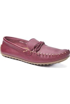 Beta Deri Erkek Ayakkabı - Bordo