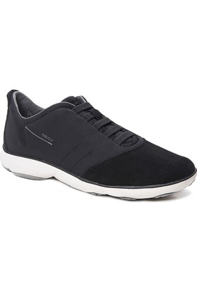 Geox Deri Tekstil Erkek Ayakkabı - Black