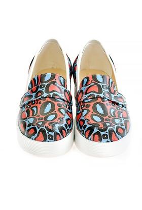Neefs Kadın Renkli Noktalar Slip On Sneaker NFS507
