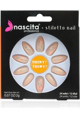 Nascita Stiletto Takma Tırnak - Glass Nails