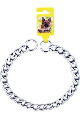 EuroDog Zincir Boğma Köpek Tasması 40cm