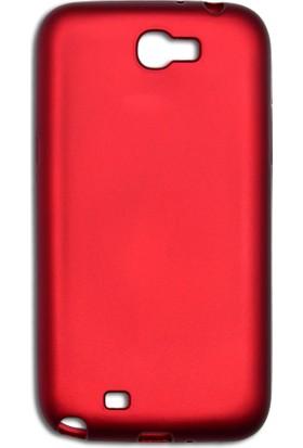 Kapakevi Samsung Galaxy Note 2 Slim Fit Premium Silikon Kılıf