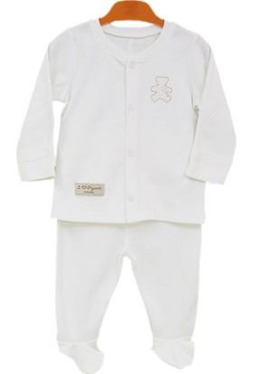 Baby Center S75691 Organik Bebek Pijama Takımı