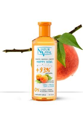 Naturvital Happy Kids Naturaleza Şeftali Şampuan 300 ml
