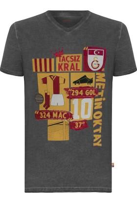 Gs Store Galatasaray Lisanslı Metin Oktay Hatıra T-Shirt