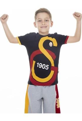 Gs Store Galatasaray Lisanslı Büyük Logo Çocuk T-Shirt