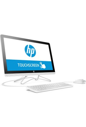 "HP 24-E007NT Intel Core i5 7200U 8GB 1TB + 8GB SSD GT920MX Windows 10 Home 23.8"" FHD All In One Bilgisayar 2BY82EA"