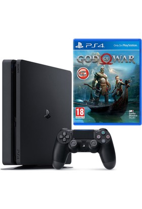 Sony Ps4 Slim 1Tb Eurasia Konsol + Ps4 God Of War