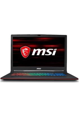"MSI GP73 LEOPARD 8RD-095XTR Intel Core i7 8750H 8GB 1TB + 128GB SSD GTX1050Ti Freedos 17.3"" FHD Taşınabilir Bilgisayar"