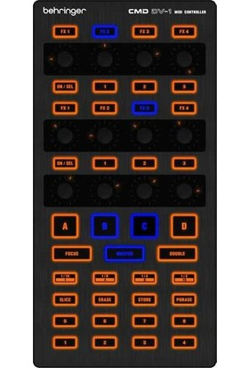 Behringer CMD DV 1 DJ MIDI Controller