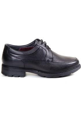White World 1714 Siyah Komfort Ayakkabı