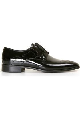 White World 1865 Siyah Rugan Klasik Ayakkabı