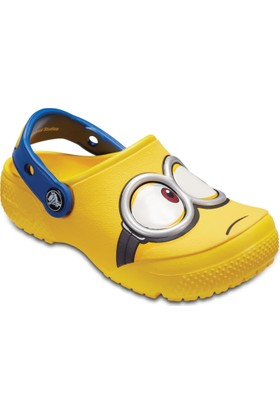 Crocs 204113-730 Sarı Crocsfunlab Minions Clog Çocuk Terlik