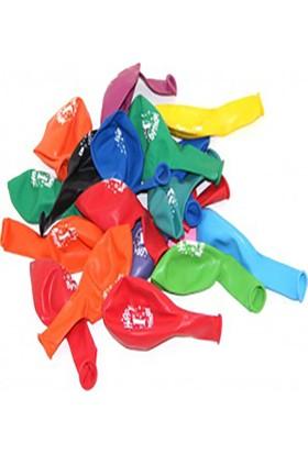 Kazanabil 1 Yaş Doğum Günü Temalı Karışık Renk Balonları 20 Adet