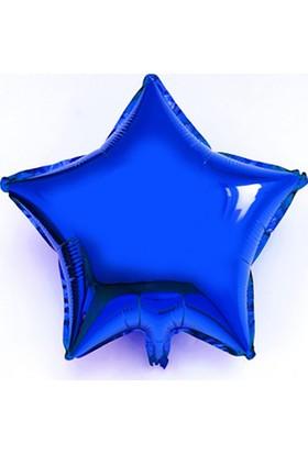 Kazanabil Yıldız Şeklinde Folyo Balon 40cm Lacivert