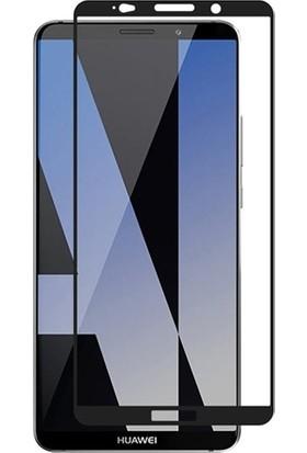 Dafoni Huawei Mate 10 Pro Curve Slim Triple Shield Siyah Ekran Koruyucu