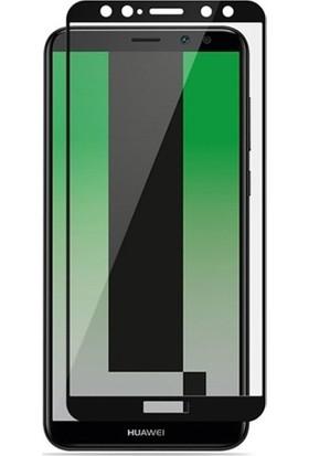 Dafoni Huawei P10 Lite Curve Slim Triple Shield Siyah Ekran Koruyucu
