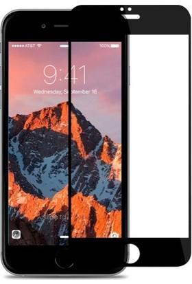 Dafoni iPhone 7 / 8 Curve Nano Glass Premium Siyah Cam Ekran Koruyucu