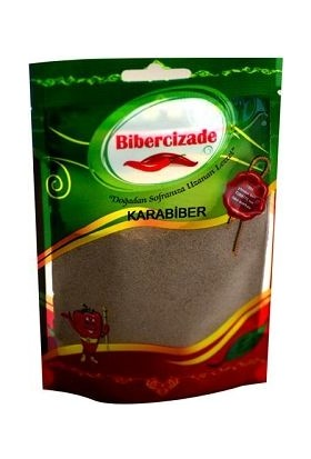 Bibercizade Toz Karabiber 1 kg