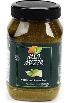 Mia Mezze Fesleğen Pesto Sos 1000 gr