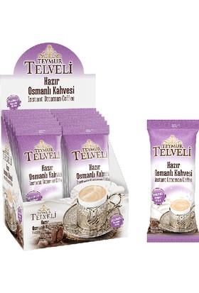 Teymur Telveli Şekersiz Hazır Osmanlı Kahvesi 12 Adet