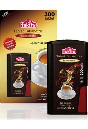 Takita Sukralozlu Tablet Tatlandırıcı ( 300 Tablet )