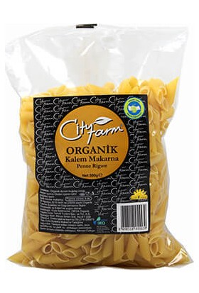 City Farm Organik Kalem Makarna 500 gr
